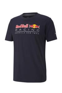 Puma   Red Bull Racing T-shirt donkerblauw, Donkerblauw