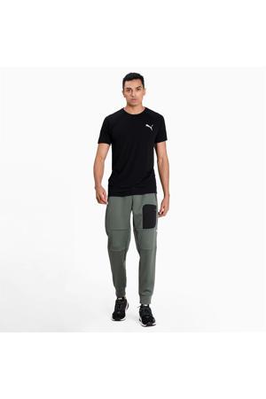joggingbroek groen/zwart