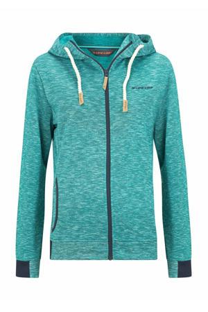 fleece vest Shildon turquoise