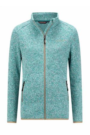 fleece vest Soham turquoise