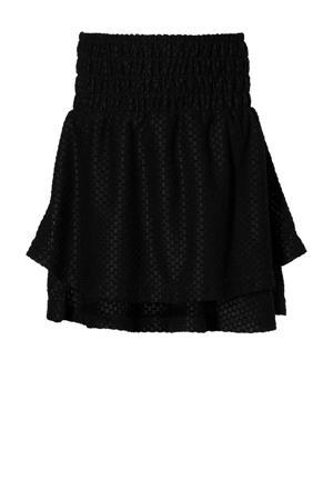 rok Kenja met textuur zwart