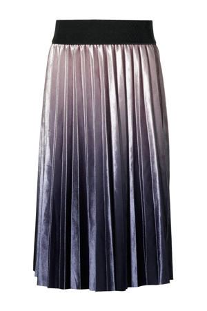 plissé rok Kenora oudroze/paars