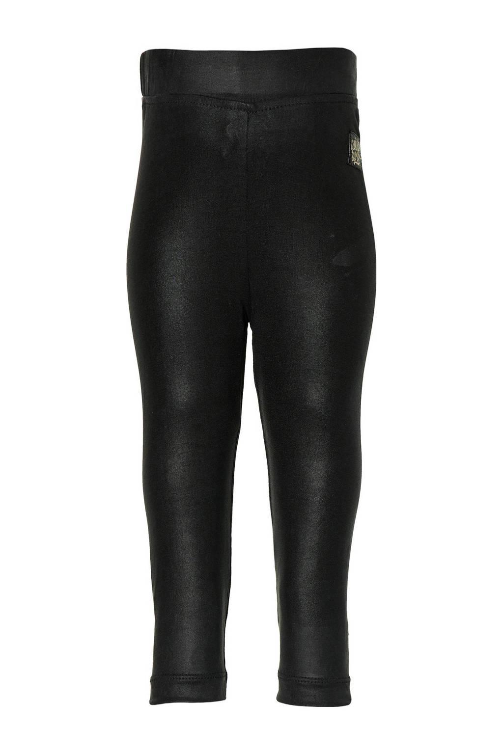 Quapi Mini regular fit legging Everly zwart, Zwart