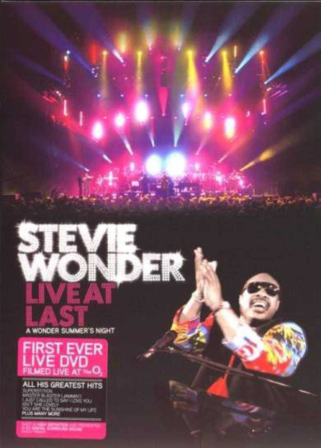 Stevie Wonder - Live At Last (DVD)