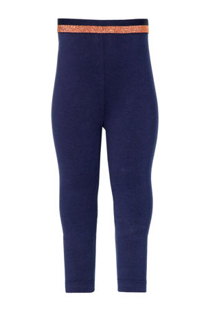 regular fit legging Ester donkerblauw