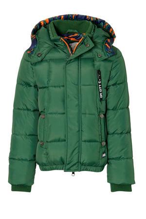gewatteerde winterjas Dexter groen