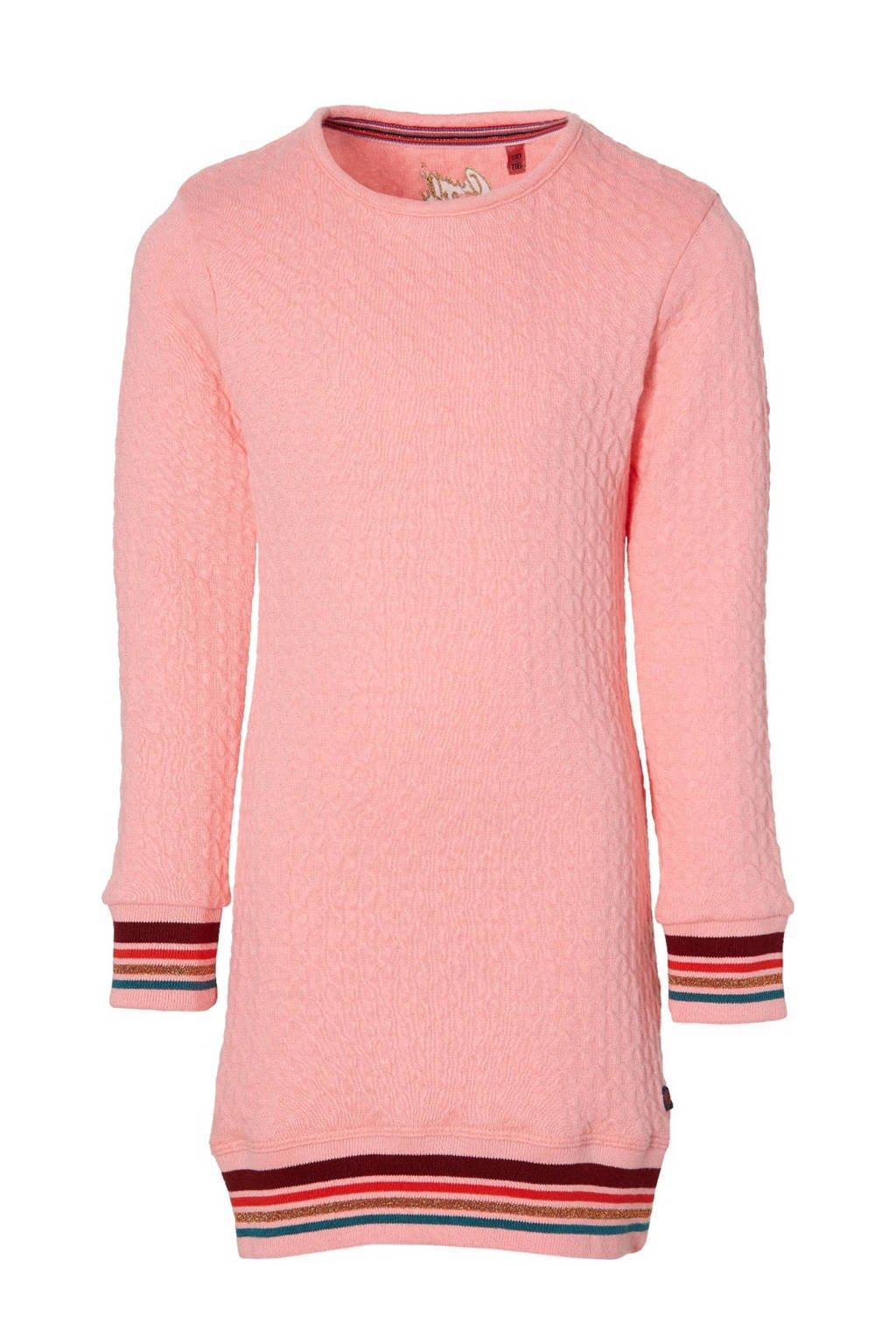 Quapi Girls jurk Daphna roze, Roze