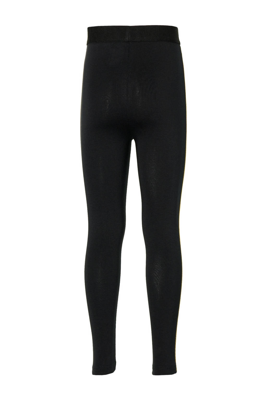 Quapi Girls regular fit legging Domiq zwart, Zwart