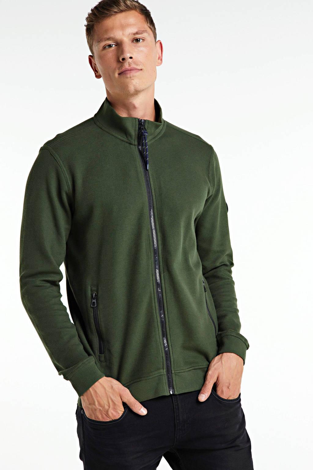 LERROS vest groen, Groen