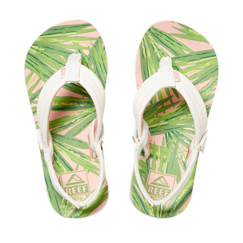 Reef Little Ahi teenslippers wit