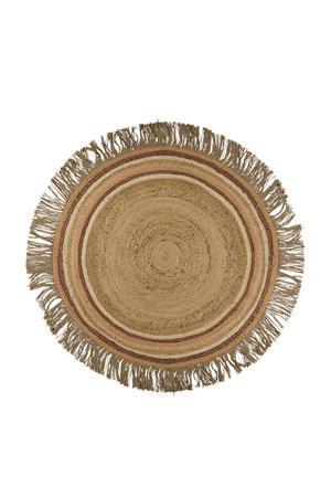 kindervloerkleed Jute Tess  (Ø110 cm)