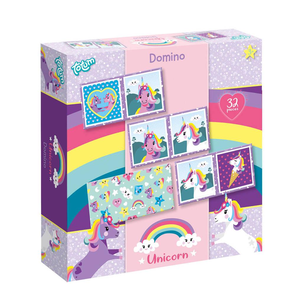 Totum Unicorn domino spel  denkspel