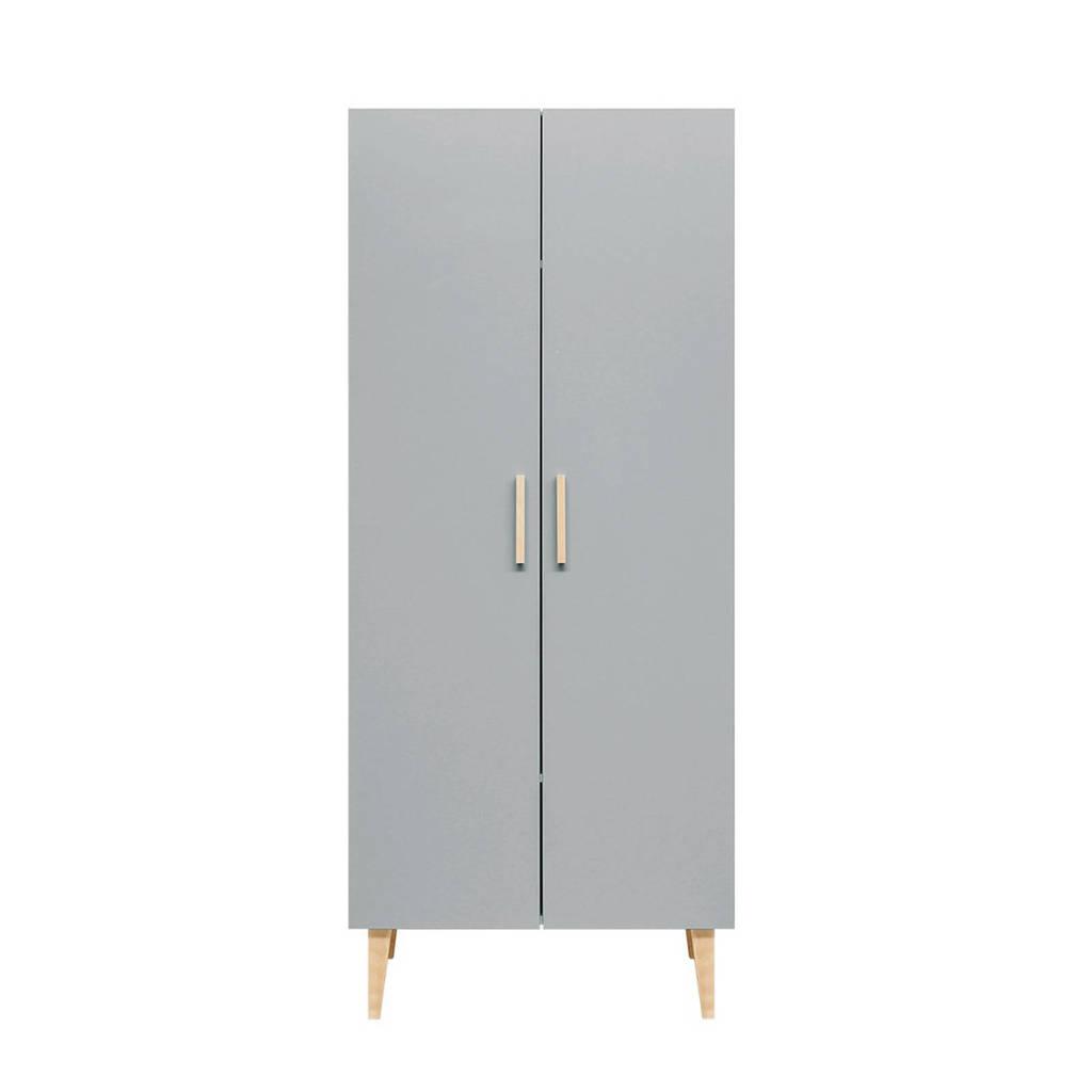 Bopita 2-deurskast white/grey Emma, White/Grey