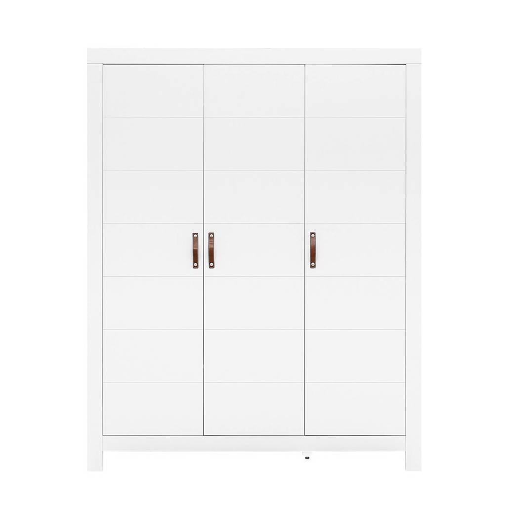 Bopita 3-deurskast wit Lucca, Wit