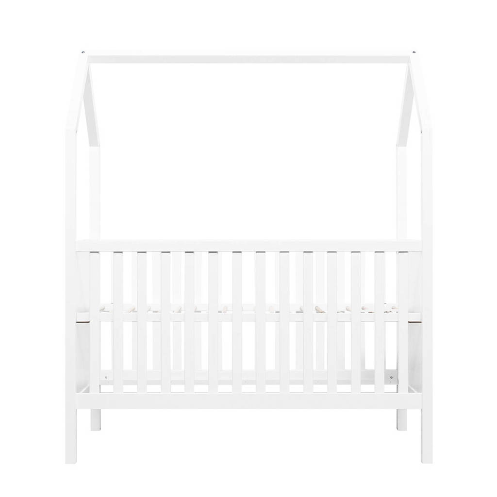 Bopita ombouwbaar bed (70x140 cm) wit My First House, Wit