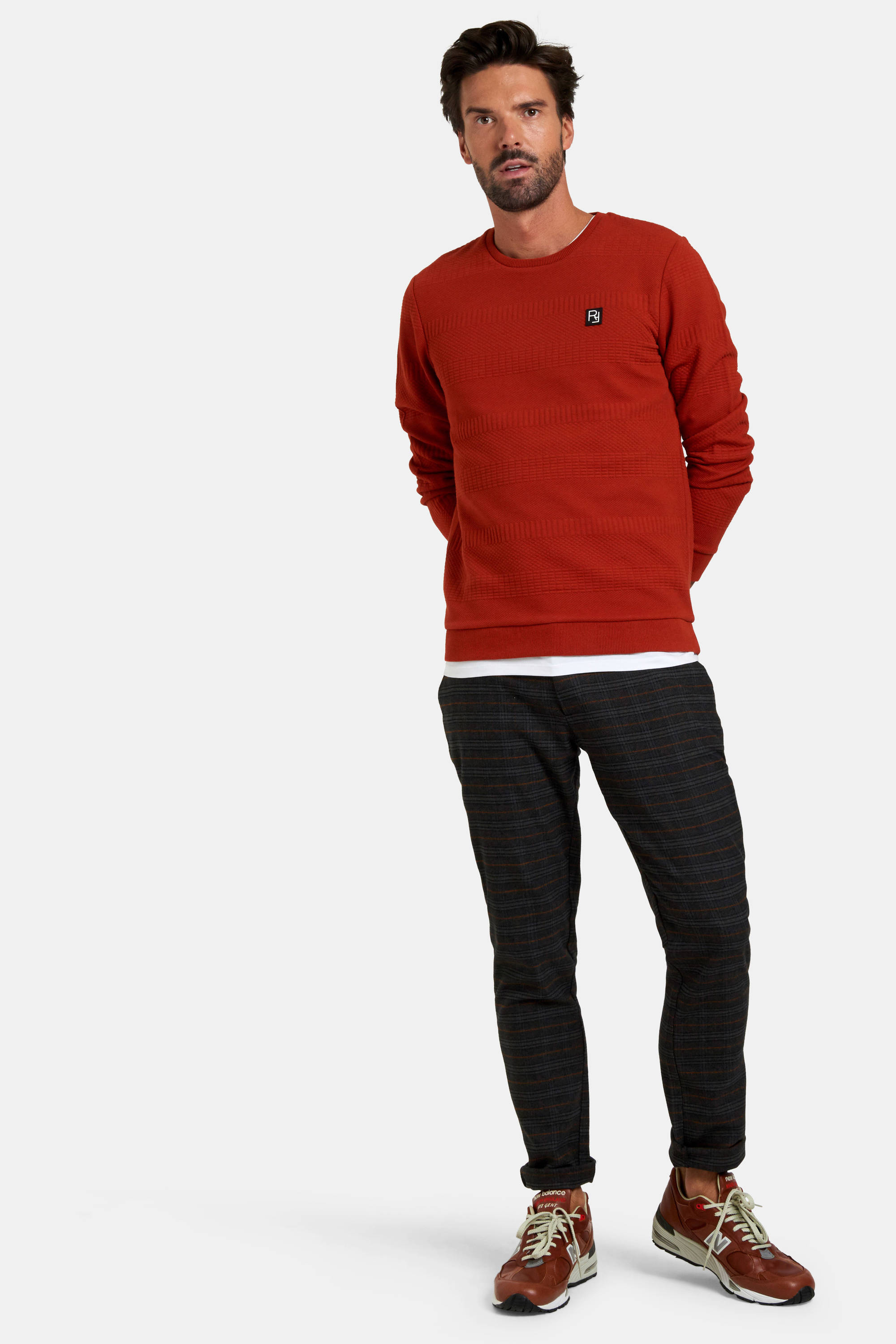 Refill by Shoeby sweater rood | wehkamp
