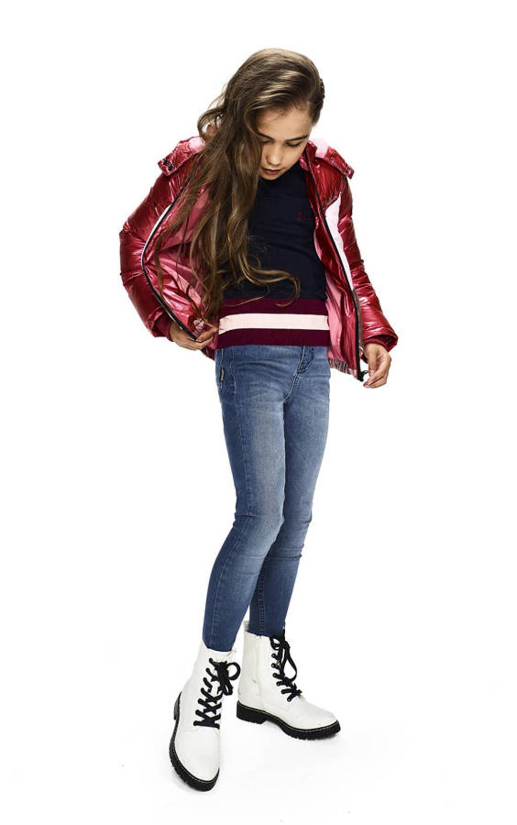Retour Denim gewatteerde winterjas Joy rood/roze/rosé, Rood/roze/rosé