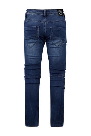 tapered fit jeans Yves medium blue denim
