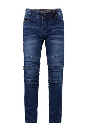 tapered fit jeans Yves medium blue denim