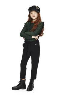 Retour Denim high waist loose fit broek Aranka zwart, Zwart