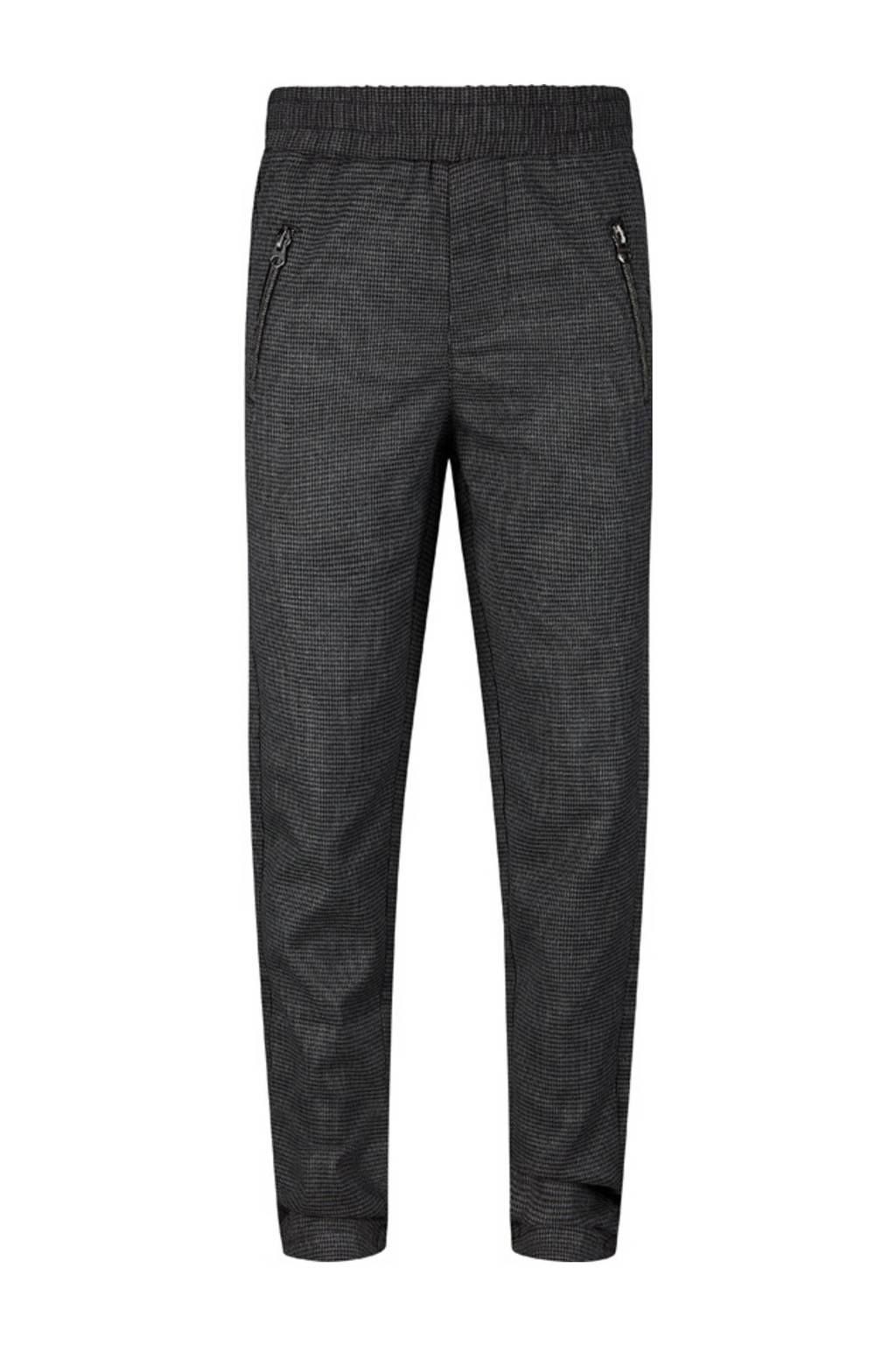 Retour Denim slim fit joggingbroek Arthur zwart, Zwart