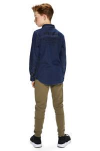 Retour Denim slim fit denim overhemd Storm medium blue denim, Medium blue denim