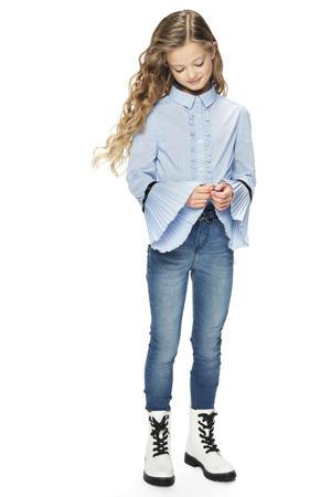 gestreepte blouse Hilde blauw