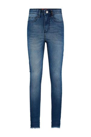 high waist skinny jeans Brianna medium blue denim