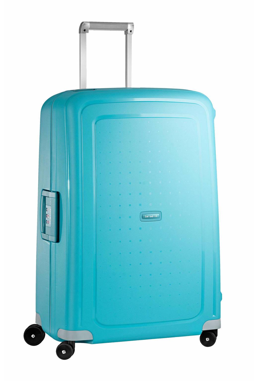 Samsonite S'Cure koffer (75 cm), Turquoise