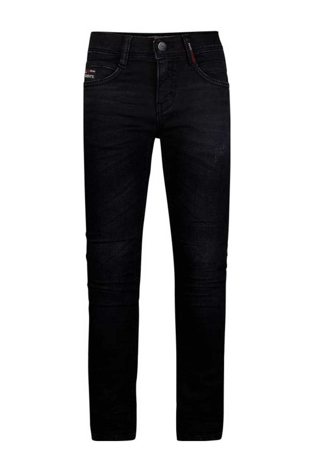 Retour Denim slim fit jeans Luigi dark grey denim, Dark grey denim
