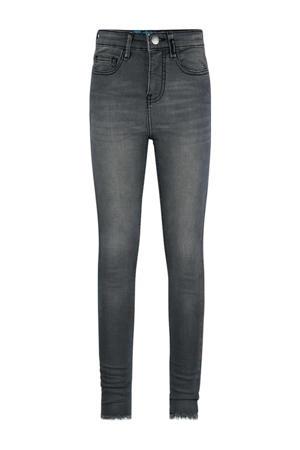 high waist skinny jeans Brianna medium grey denim