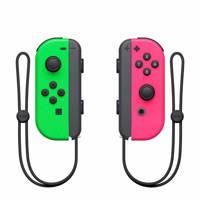 Nintendo Switch set 2 Joy-Con controllers groen/roze, Groen/roze