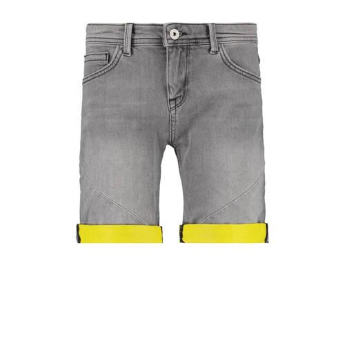 CoolCat Junior slim fit jeans bermuda Naud grijs s
