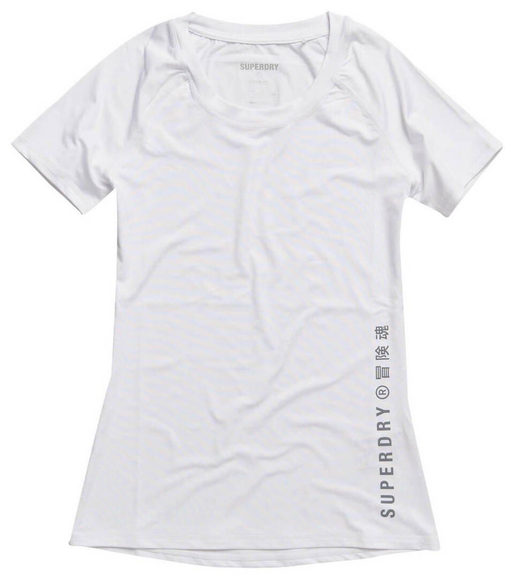 Superdry Sport T-shirt wit, Wit