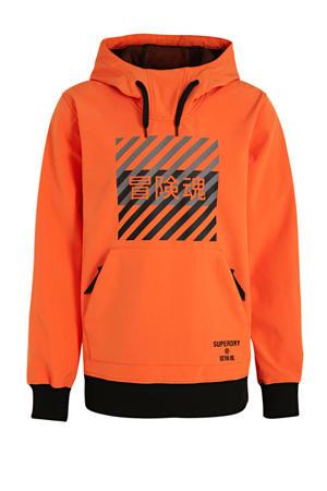 skisweater oranje