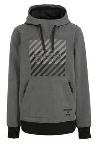Superdry Sport   skisweater antraciet, Antraciet
