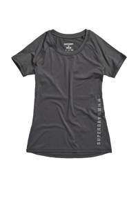 Superdry Sport T-shirt antraciet, Antraciet