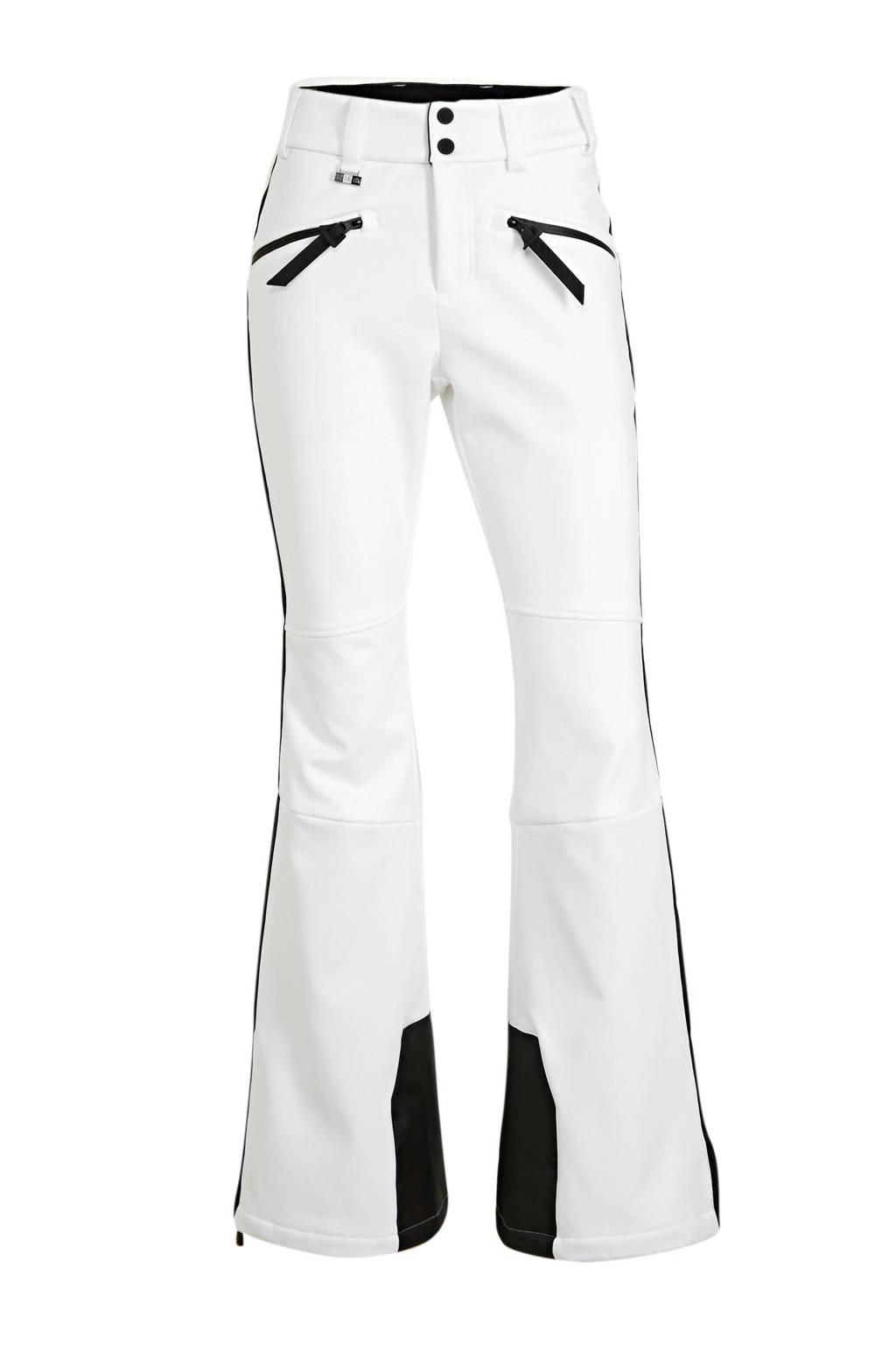 Superdry Sport skibroek wit/zwart, Wit/zwart