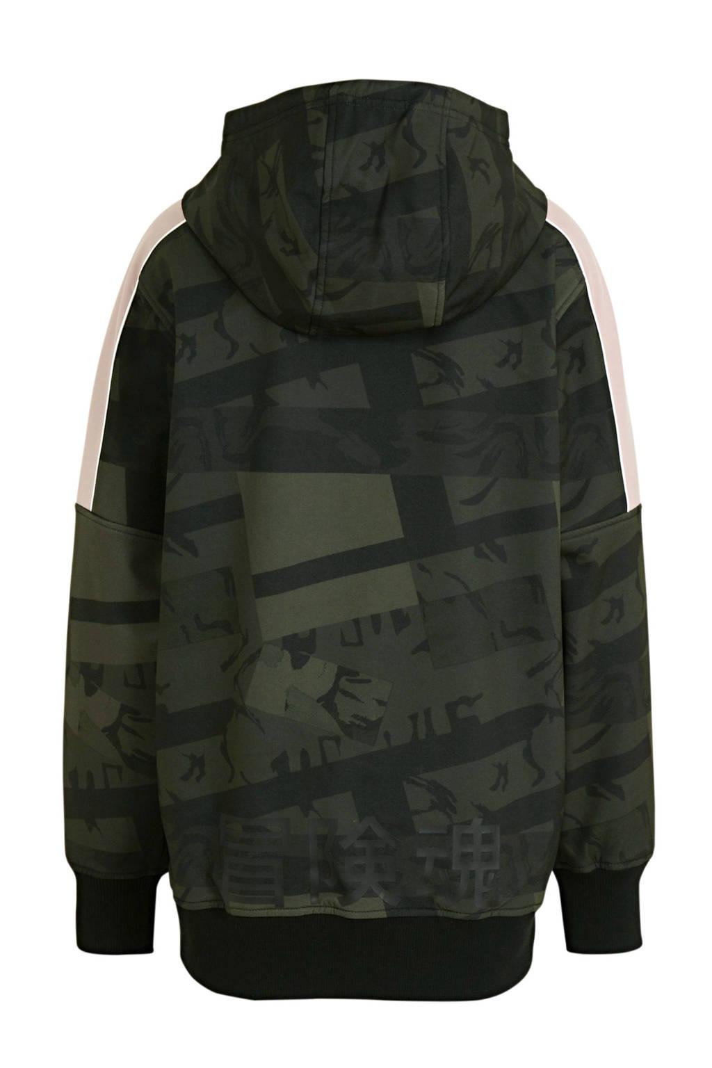 Superdry Sport skisweater zwart, Zwart