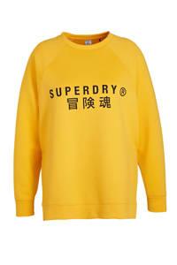 Superdry Sport sweater geel, Geel