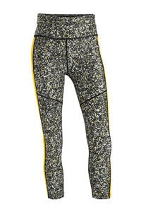 Superdry Sport sportbroek grijs/geel, Grijs/geel