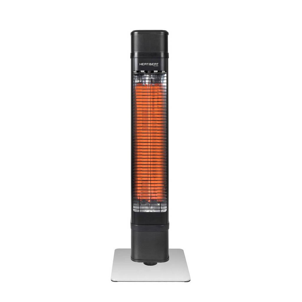 Eurom heater Heat and Beat Tower, Zwart