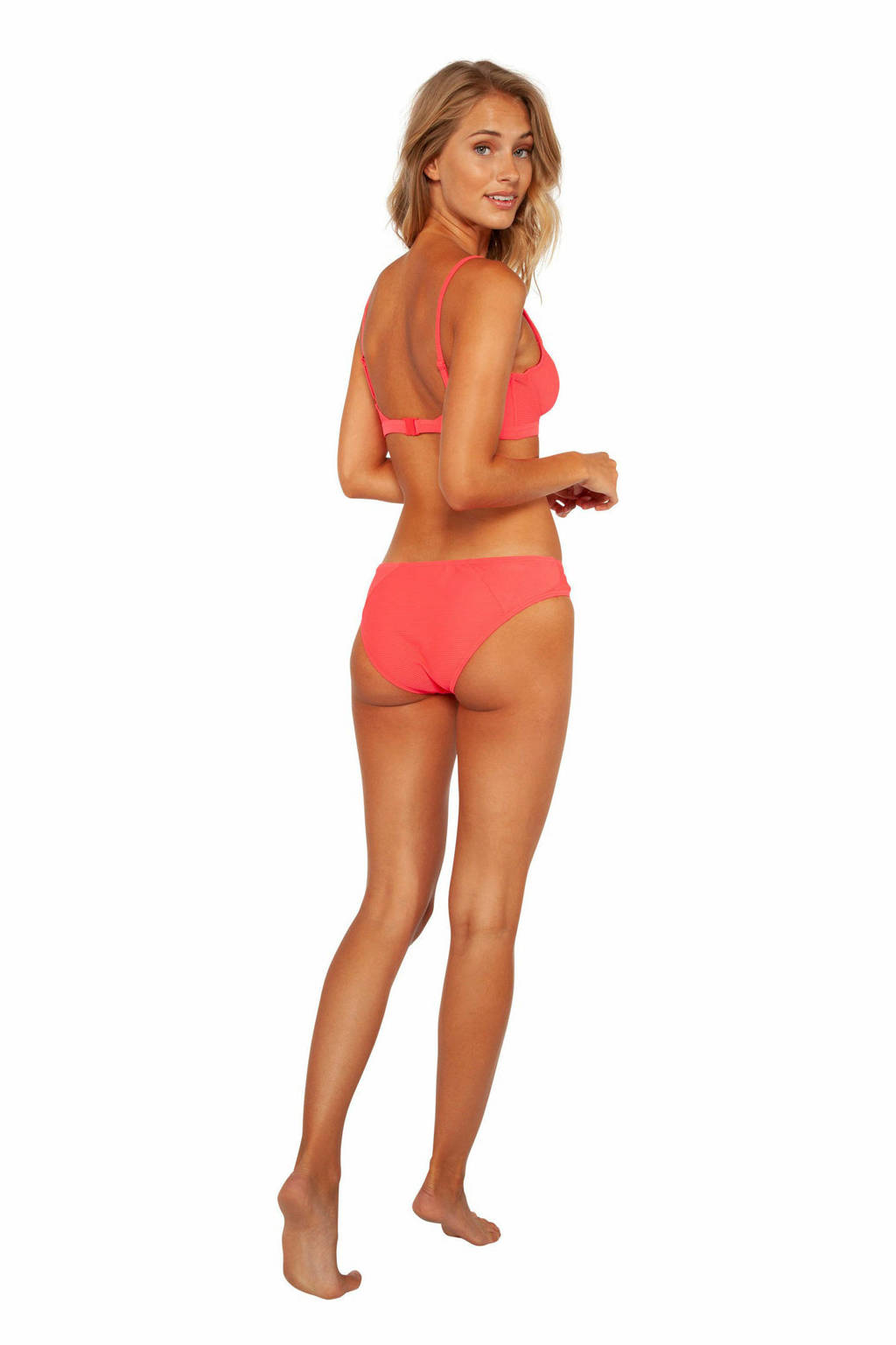 Protest beugel bikini Palermo C-cup koraalrood, Grenadine
