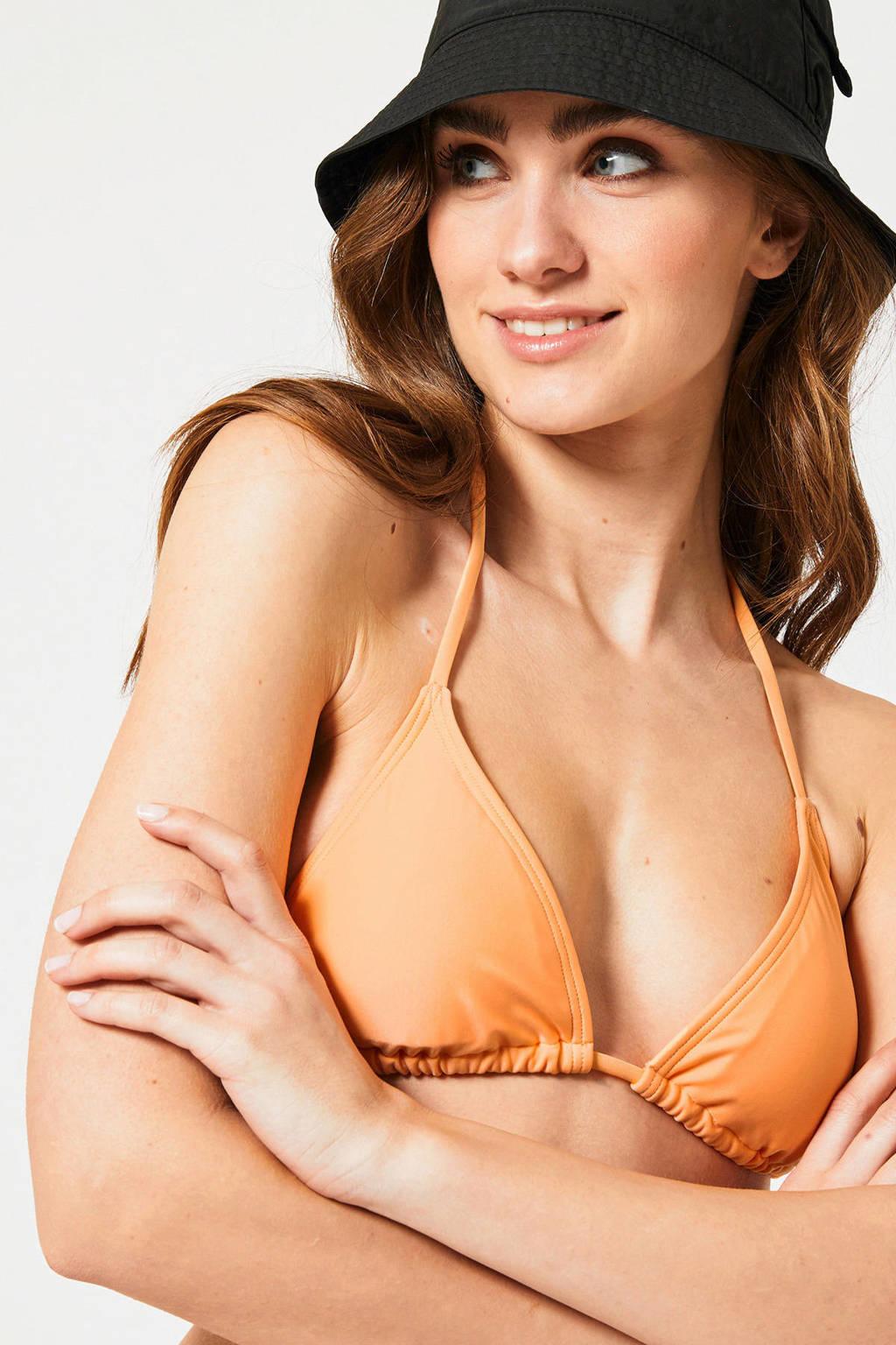 America Today triangel bikinitop Amber oranje, Oranje