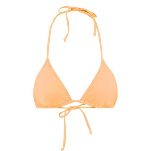 America Today triangel bikinitop Amber oranje