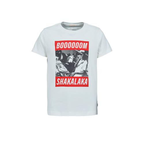 America Today Junior T-shirt Edgar met printopdruk
