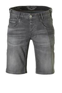 PME Legend regular fit jeans short, Grijs