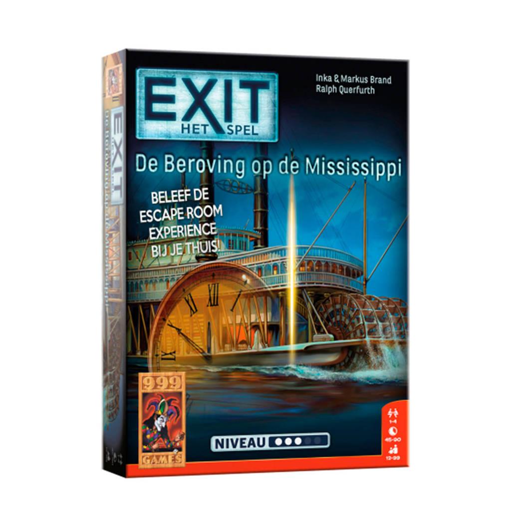 999 Games EXIT - De beroving op de Mississippi bordspel