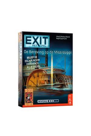 EXIT - De beroving op de Mississippi bordspel