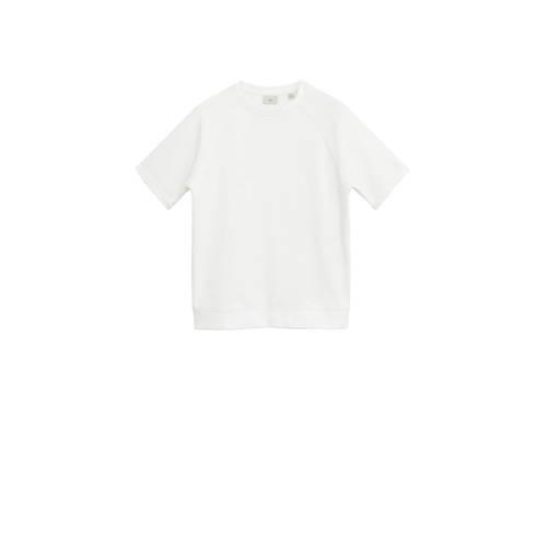 Mango Man T-shirt wit